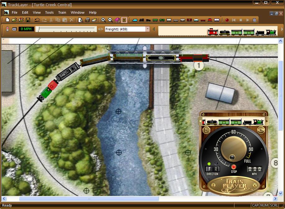 TrainPlayer Software for Model Railroaders
